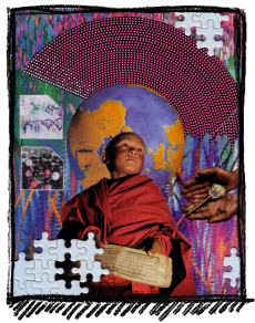 Rox Flame - Wellington New Zealand Artist - Finding the Key - 2007
