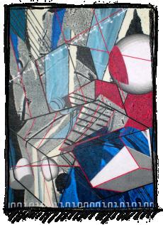 Rox Flame - Wellington New Zealand Artist - Psybertechs - 2007