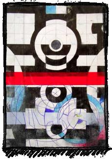 Rox Flame - Wellington New Zealand Artist - Defense Barrier