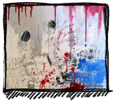 Rox Flame - Wellington New Zealand Artist - Killer