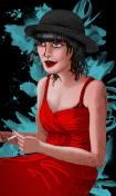 Rox Flame - Hunter Thompson Portrait