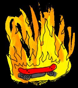 Rox Flame - Wellington New Zealand Artist - Electric Skateboard Crash